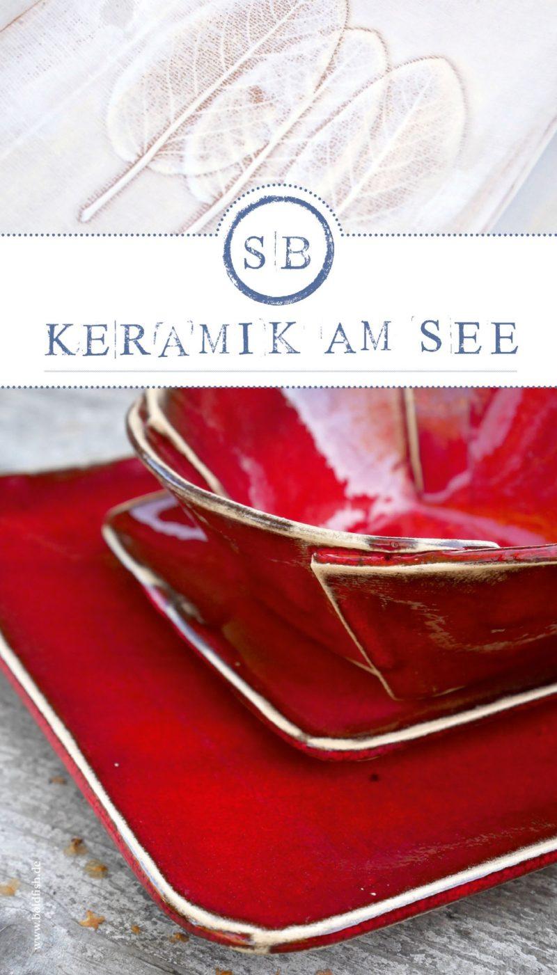 Keramik am See Schalen
