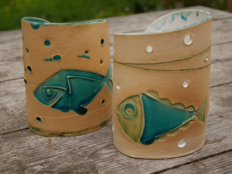 Teelichter Fische