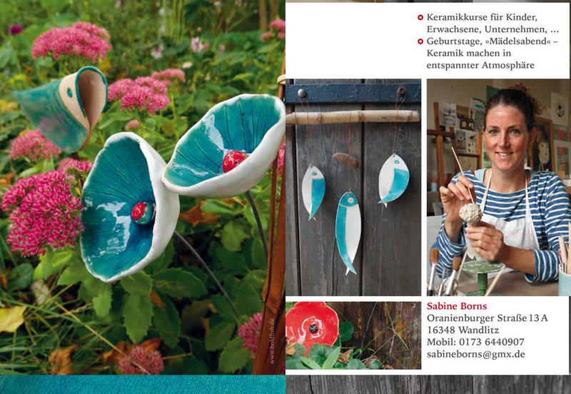 Keramikkurse in Wandlitz, Workshops und Kindergeburtstage