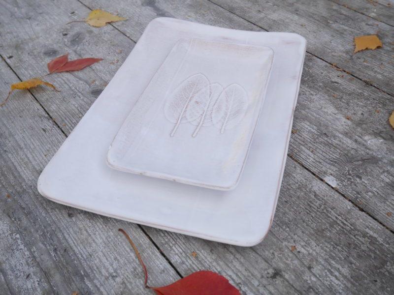 """Keramikschalenset """"Weiss"""""""